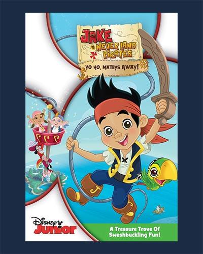 Jake NeverLand Pirates poster